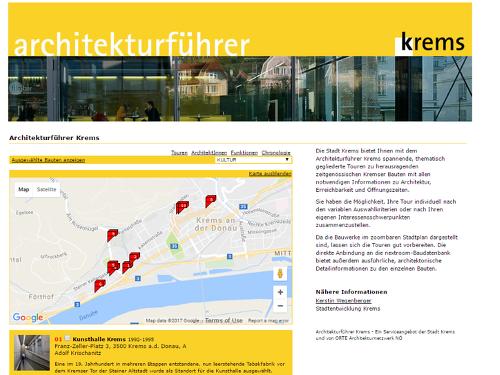 Architekturführer Krems